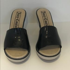 Juicy couture size 9 wedges